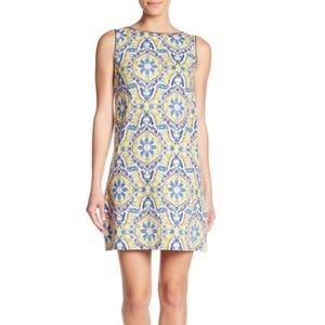 Betsey Johnson Printed Cotton Shift Dress 4